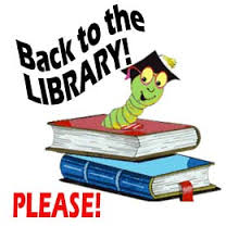 All Library Books Due May 19th